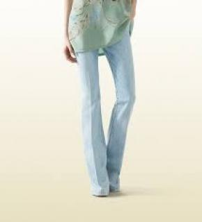 Gucci flare beige jeans Italian size 38