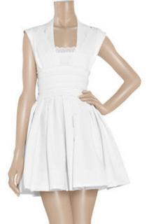 Preen by thornton bregazzi Harness stretch-crepe dress