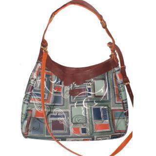 Bric's large handbag with shoulder strap