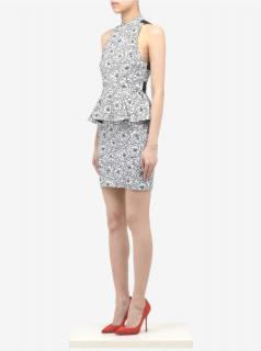Alice & Olivia Freya Halterneck Dress UK10