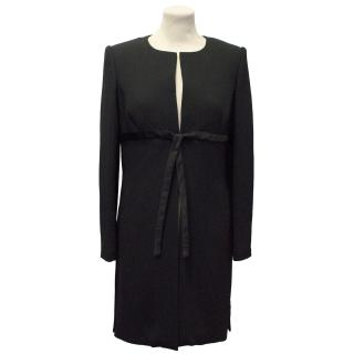 Ulrich Engler Black Pleated Coat