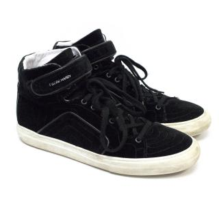 Pierre Hardy Black High Top Trainers