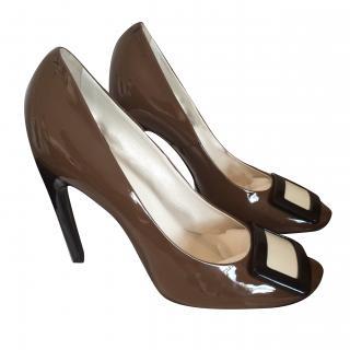 Roger Vivier Two Tone Court Shoes