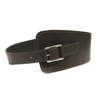 Aquascutum Brown Leather Belt