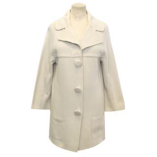 Ann Louise Roswald Cream Coat