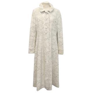 Caroline Charles Cream Studio Coat