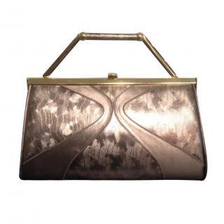 Beautiful Leather 3-way Gina Handbag in Bronze