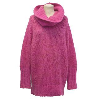 McQ Alexander McQueen Pink Wool Jumper