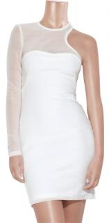 Alexander Wang White Bodycon Dress