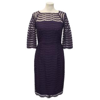 Milly Purple Lace Dress