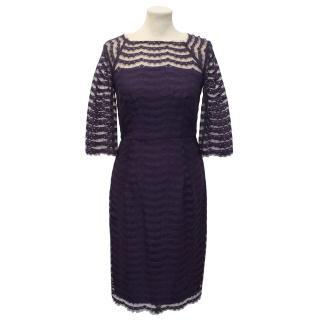 Milly Purple Lace Dress