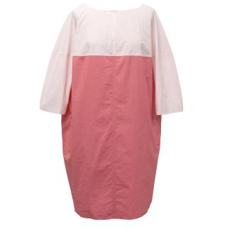 Paule Ka Pink Cotton Dress