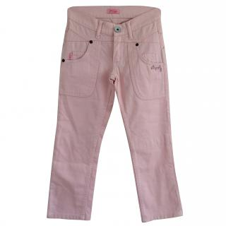 Roberto Cavalli Angels girls Pink Jeans