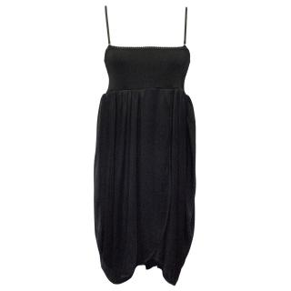 Balenciaga Black Babydoll Dress