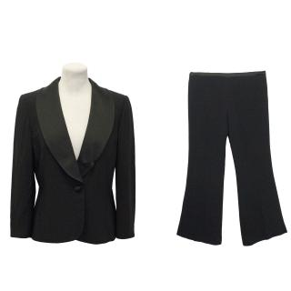 Ronit Zilkha Black Suit and Trousers