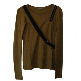 MCQ by McQueen green top with black strap