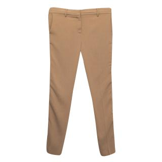 Reed Krakoff Rusty Pink Viscose Tailored Trousers