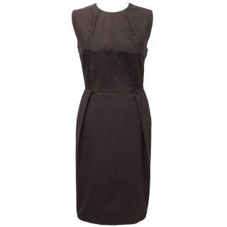 Bottega Venetta Plum Cotton Dress