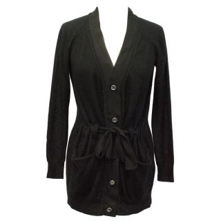 3.1 Phillip Lim Black Cashmere Knitted Cardigan