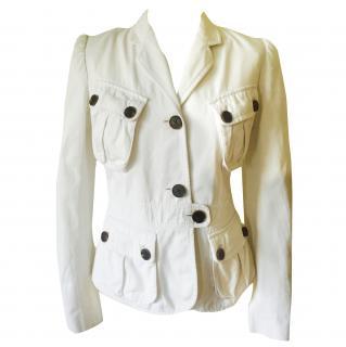 Barbara Bui Stunning White Jacket/Blazer