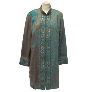 Beatrice Von Tresckow Green Embellished Jacket