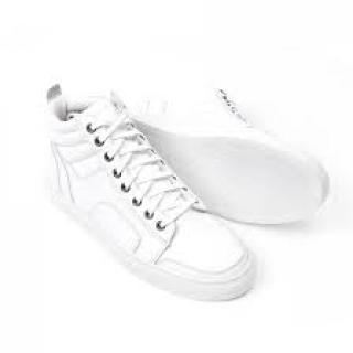 Del Toro Women's Boxing Nappa Leather Sneakers White