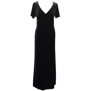 Paddy Campbell Velvet Maxi Dress