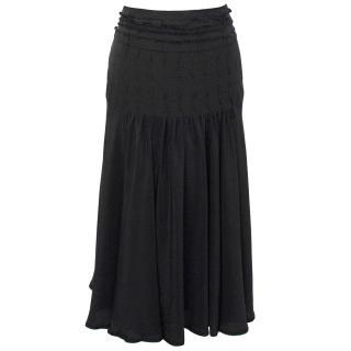 Marina Rinaldi Silk Skirt