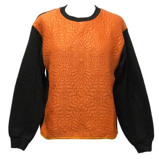 JW Anderson Orange and Black Sweatshirt