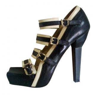 Gil Carvalho strappy platform heels