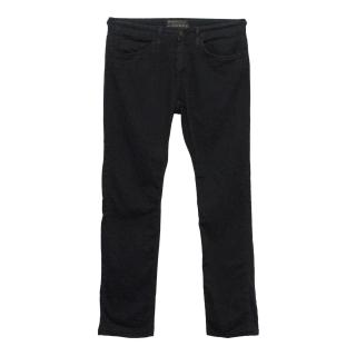 J Brand 'Kane' Black Straight Fit Jeans