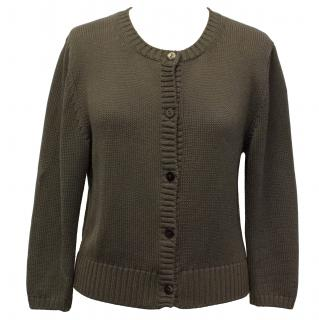 Giuliana Florenzano Brown Cardigan