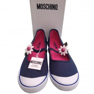 Moschino Teen Canvas Shoes