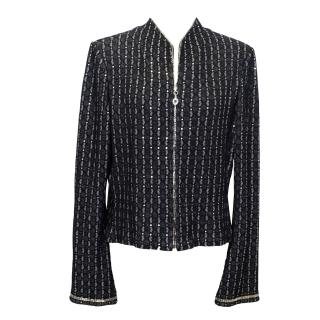 St Johns Evening Black and Silver Jacket