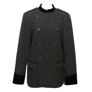 Paul & Joe Tweed Wool Blend Jacket