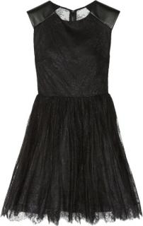 Alice and Olivia Shelley lace dress