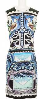 Mary Katrantzou Silk Pencil Dress