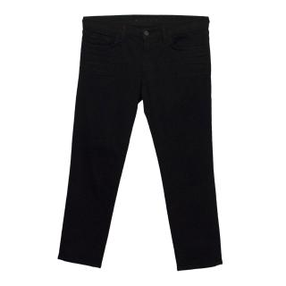 J Brand Cropped Black Jeans