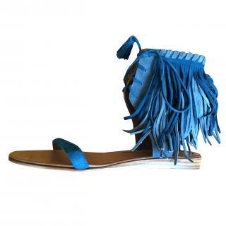 Etro fringe sandal