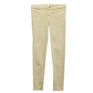 J Brand Beige Stretch Skinny Jeans