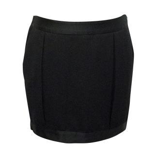 By Marlene Birger Black Mini Skirt