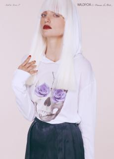 NEW with tags Wildfox Skull Light Hoody Limited edition by Francesca L