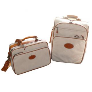 Mulberry Suitcase and matching vanity case