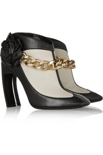 Nicholas Kirkwood Black and White Ankle Boots