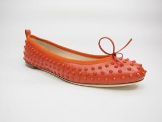 GUCCI Studded Ballerina Flats