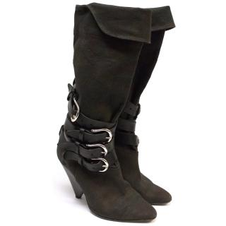 Isabel Marant Canvas Boots