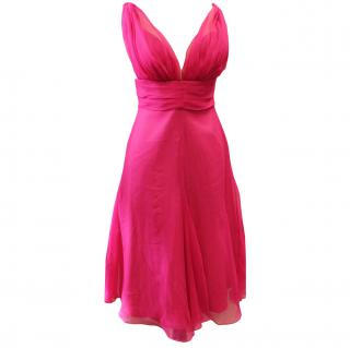 David Fielden Fuchsia Dress