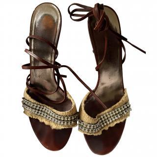 Dolce and Gabbana heeled sandles