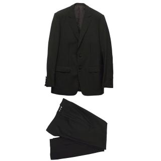 Kilgour Black Wool Trouser Suit