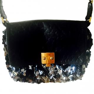 Marc Jacobs Tweed Sequins Debbie Mini Bag